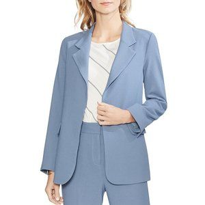Vince Camuto Womens Textured Open-Front Blazer